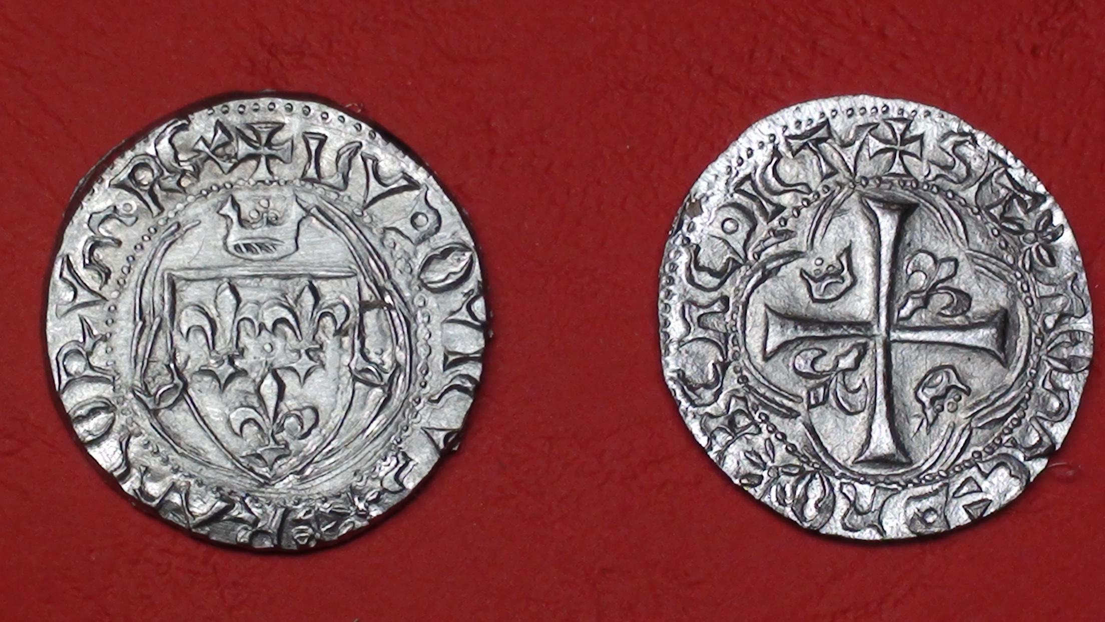 Blanc à la couronne - Louis XI -