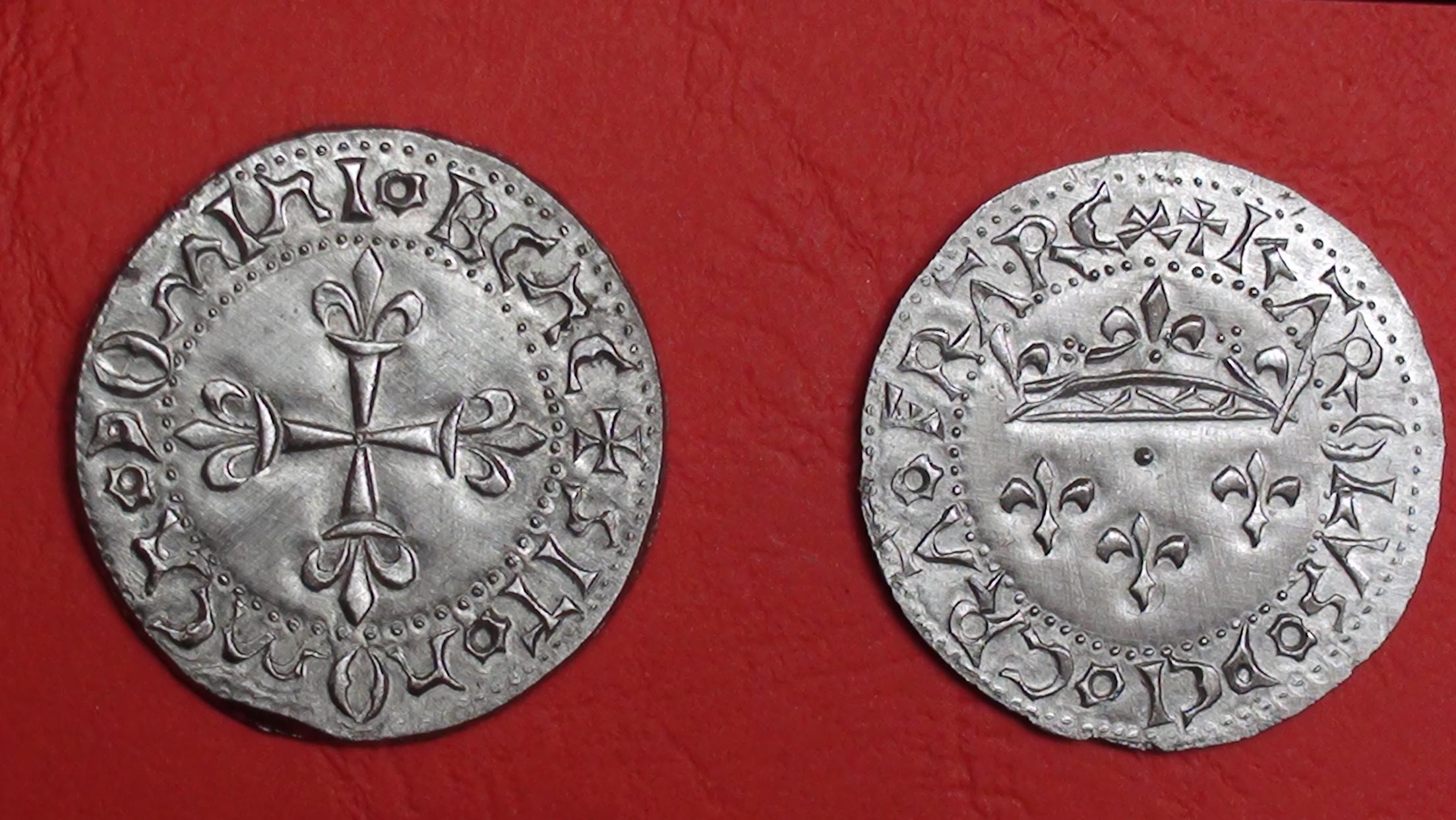 Charles VII - Gros de roi
