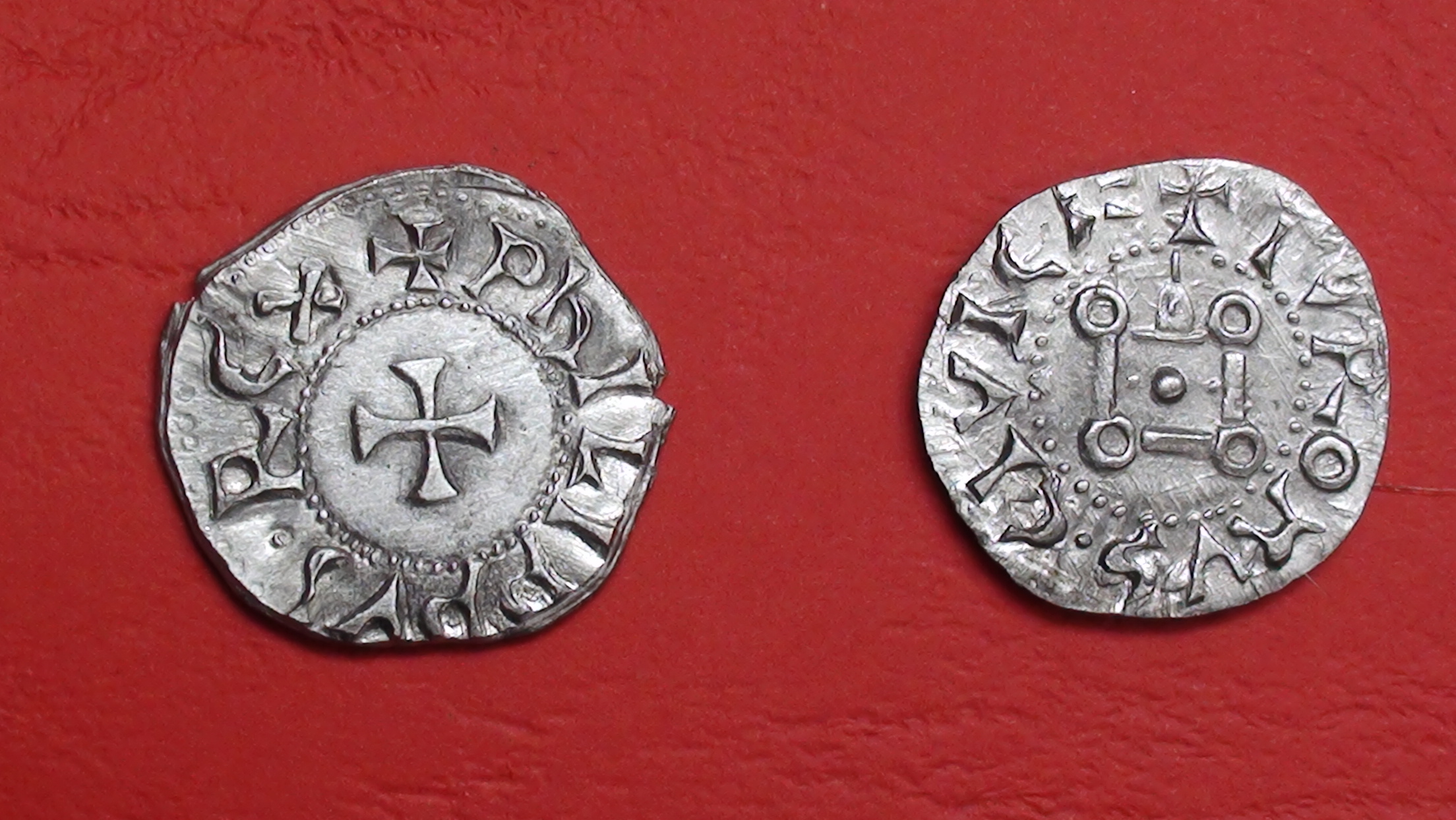 Philippe IV le Bel.Denier tournois