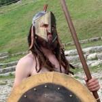 Stage de Sparte à Rome - Initiation au combat avec bouclier